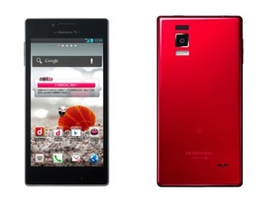 LG Optimus G quad-core smartphone