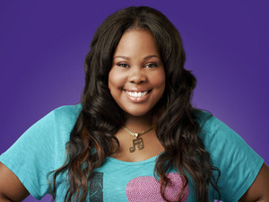 Amber Riley as Mercedes Jones in Season 4 of Glee.