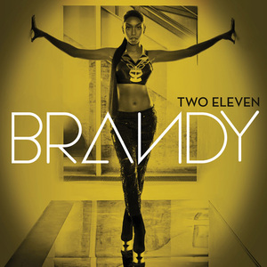 Brandy 'Two Eleven' deluxe album artwork.