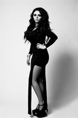 Little Mix Jesy Nelson in Fiasco magazine shoot.