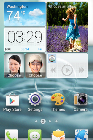 Huawei 'Emotion' smartphone user interface
