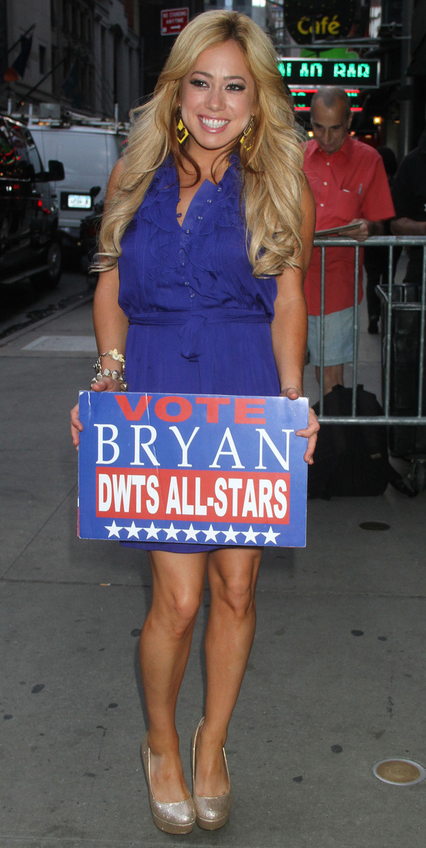 Sabrina Bryan at ABC Studios for 'Good Morning America' New York City, USA - 21.08.12