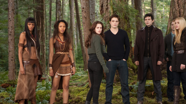 Judith Shekoni, Tracey Heggins, Kristen Stewart, Robert Pattinson, Christian Camargo, Peter Facinelli and Casey LaBow