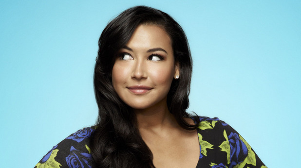 Naya Rivera as Santana Lopez in Season 4 of Glee.