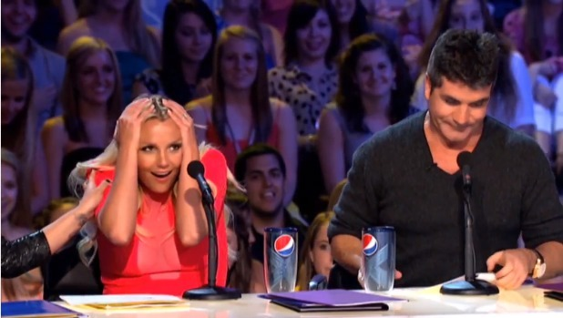 Britney Spears, Simon Cowell X Factor USA