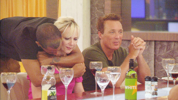 Celebrity Big Brother: Harvey comforts Samantha after she is nominated