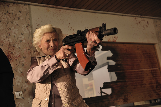 cockneys vs zombies honor blackman pictures