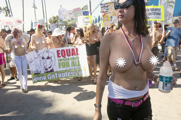 National Topless Day 2012