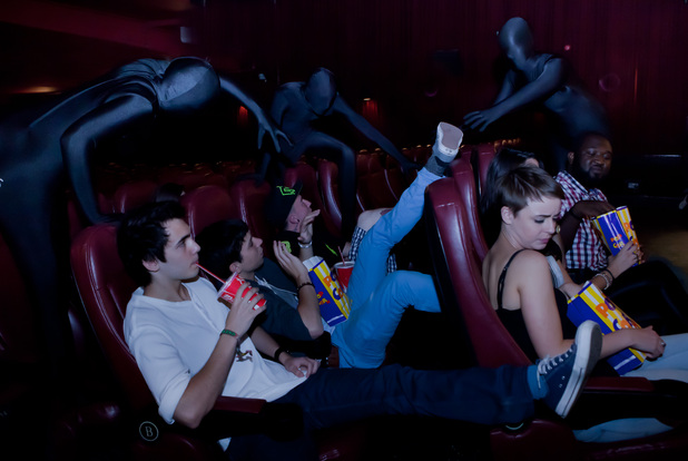 'Ninja Task Force' target bad behaviour in cinemas