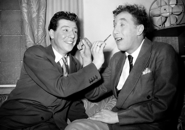 Max Bygraves and Frankie Howerd