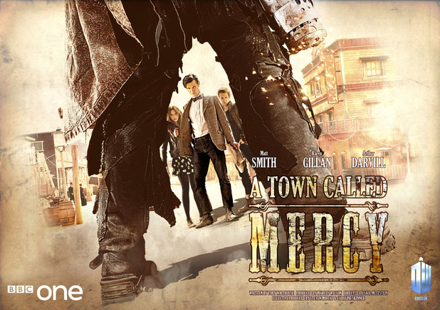 Doctor Who: 'A Town Called Mercy' iconic poster