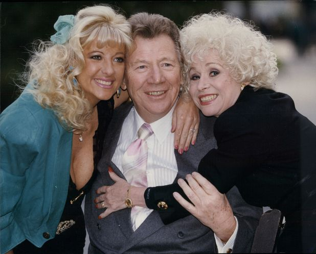 Max Bygraves, Barbara Windsor and Ellie Lane.