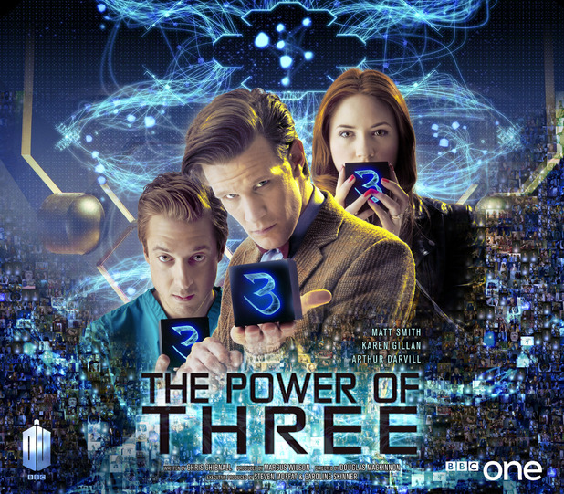 Doctor Who: 'The Power of Three' iconic poster