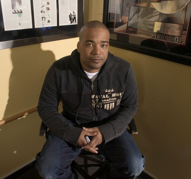 Chris Lighty pictured in his office in 2007. He was found dead from a gunshot wound on Thursday, August 30 2012.