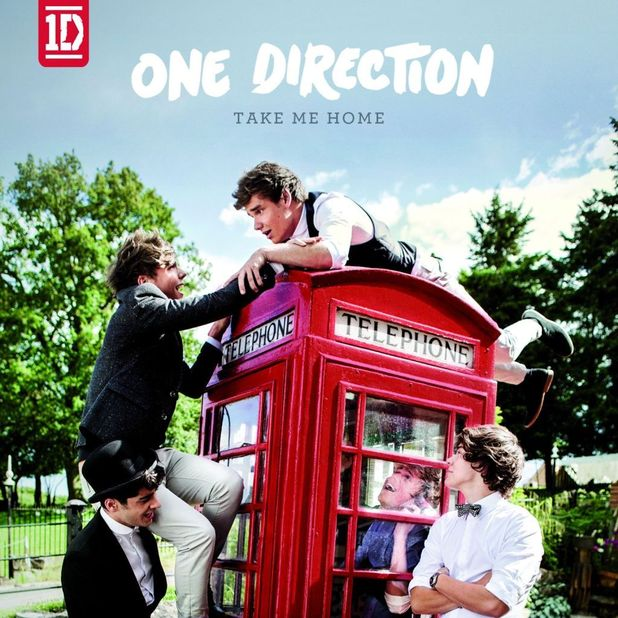 One Direction's 'Take Me Home' artwork