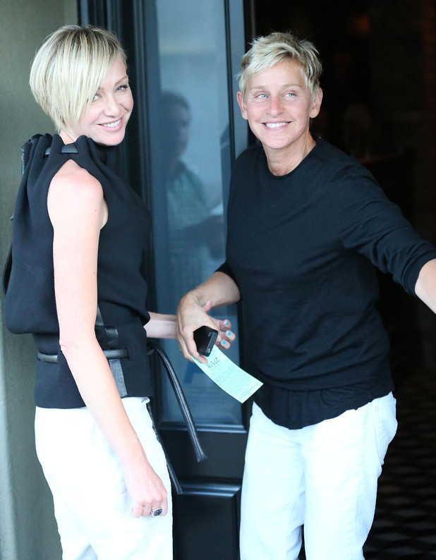 Ellen DeGeneres and Portia de Rossi