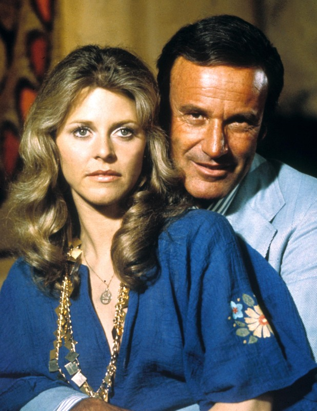 Lindsay Wagner and Richard Anderson