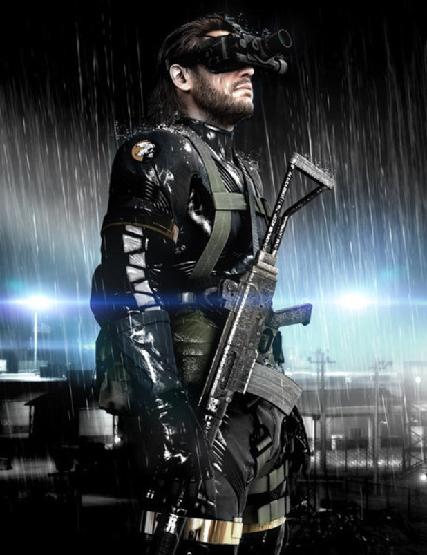 &#39;Metal Gear Solid: Ground Zeroes&#39; promotional image