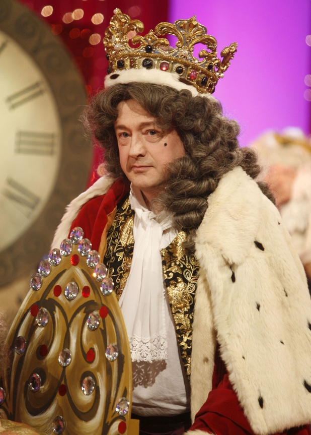 Louis Walsh in fancy dress