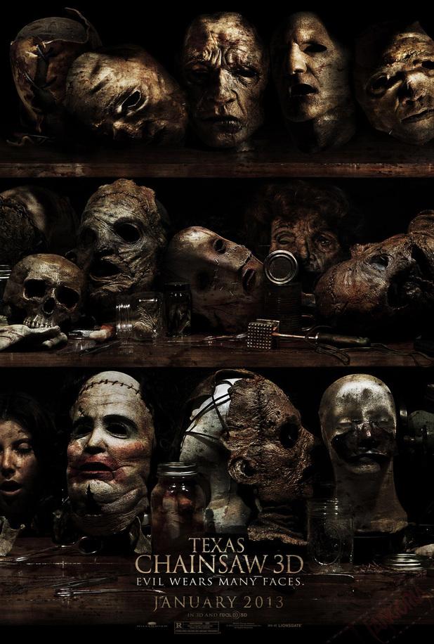 Texas Chainsaw Massacre 3D poster