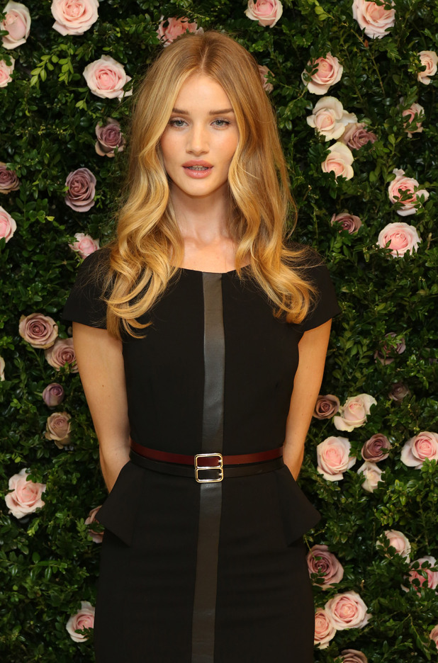 Rosie Huntington-Whiteley launches her new lingerie collection for Marks & Spencer
