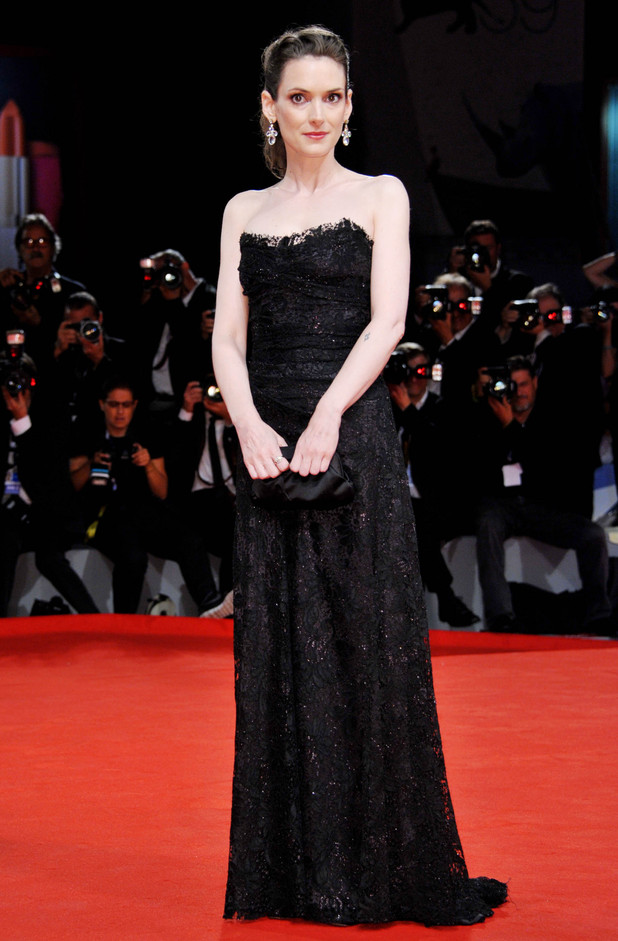 Winona Ryder at the 69th Venice Film Festival