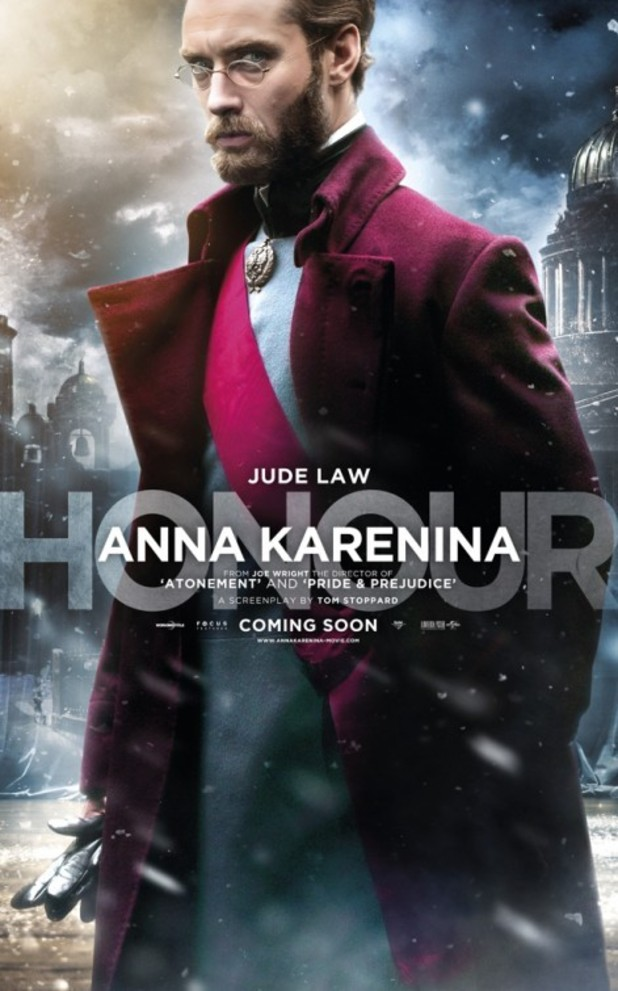 Jude Law as Alexei Karenin