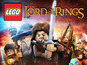 The LEGO Lord of the Rings box art features famous characters and battle scenes.