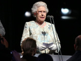 Queen Elizabeth II declares the Paralympic Games open during the Paralympics Games Opening Ceremony