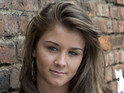 Brooke Vincent talks about Sophie's feelings for Jenna and dad Kevin's reaction.
