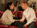 Izzy and Gary's future as a couple is under threat in Coronation Street tonight.
