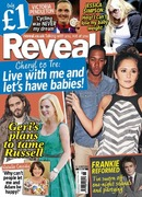 Frankie Cocozza in Reveal Magazine