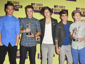 One Direction 2012 MTV Video Music Awards, held at the Staples Center - Press Room Los Angeles, California - 06.09.12 Mandatory Credit: FayesVision/WENN.com