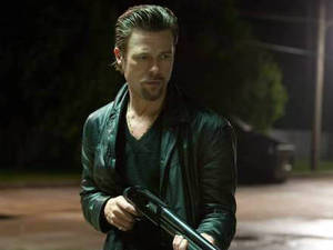 Brad Pitt star&#39;s in crime thriller &#39;Killing Them Softly&#39;.