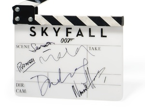 James Bond Skyfall Clapperboard