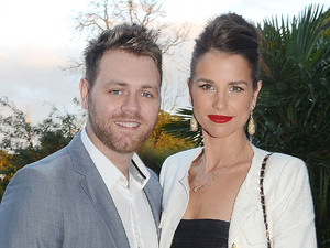 Brian McFadden, Vogue Williams, at the 13th Marie Keating Foundation Celebrity Golf dinner at the K-Club. County Kildare, Ireland - 27.08.12 Mandatory Credit: WENN.com