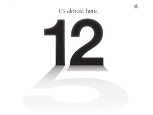 Apple iPhone 5 launch invite
