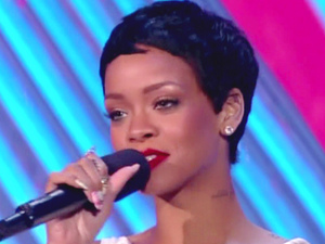 Rihanna at the MTV Video Music Awards 2012