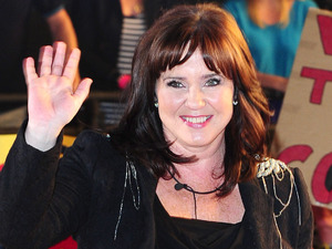 Coleen Nolan leaves the Celebrity Big Brother House during the live final at Elstree Studios, Borehamwood. Picture date: Friday September 7, 2012. Photo credit should read: Ian West/PA Wire