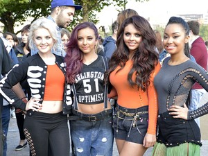 Little Mix, perform live on the Southbank
