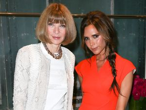 Fashion's Night Out' at Bergdorf Goodman in New York, America - 06 Sep 2012 Subhead: Victoria Beckham, Anna Wintour