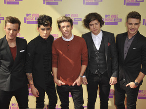 841828bq Headline: 2012 MTV Video Music Awards Arrivals, Los Angeles, America - 06 Sep 2012 Subhead: One Direction - Louis Tomlinson, Zayn Malik, Niall Horan, Harry Styles and Liam Payne Supplementary info: Categories: Byline: Picture Perfect/Rex Features