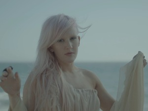 Ellie Goulding 'Anything Could Happen' video still