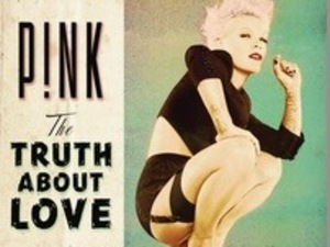 Pink's album cover The Truth About Love - released 17 September 2012