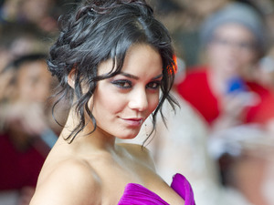 Vanessa Hudgens at the &#39;Spring Breakers&#39; premiere in Toronto.