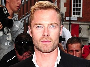 Ronan Keating arriving at the 2012 GQ Men Of The Year Awards at the Royal Opera House, London