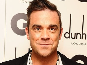 Icon Of The Year Robbie Williams at the GQ Men Of The Year Awards at the Royal Opera House, London