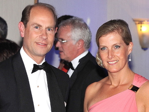Royals Prince Edward and The Countess of Wessex at The Paralympic Ball, held at the Grosvenor House in London