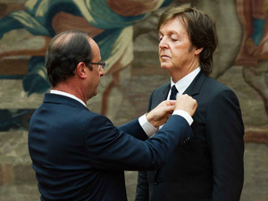 Sir Paul McCartney honored with &#39;Legion of Honor&#39;,