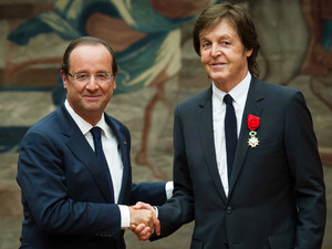 Sir Paul McCartney honored with 'Legion of Honor',